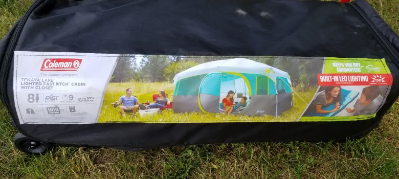 Coleman Tenaya Lake 8 Person Tent Setup Review Take Down We Stay Dry? & coleman tenaya lake 8 person tent setup | We Live A Lot