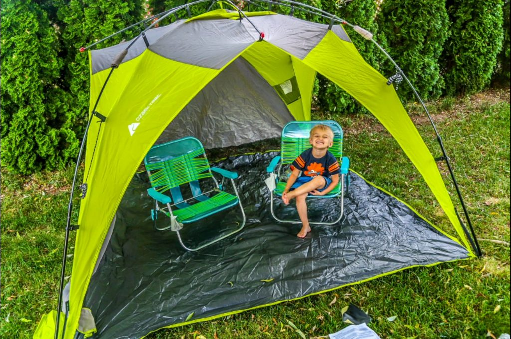 Ozark Trail 8x8 Instant Sun Shade Review