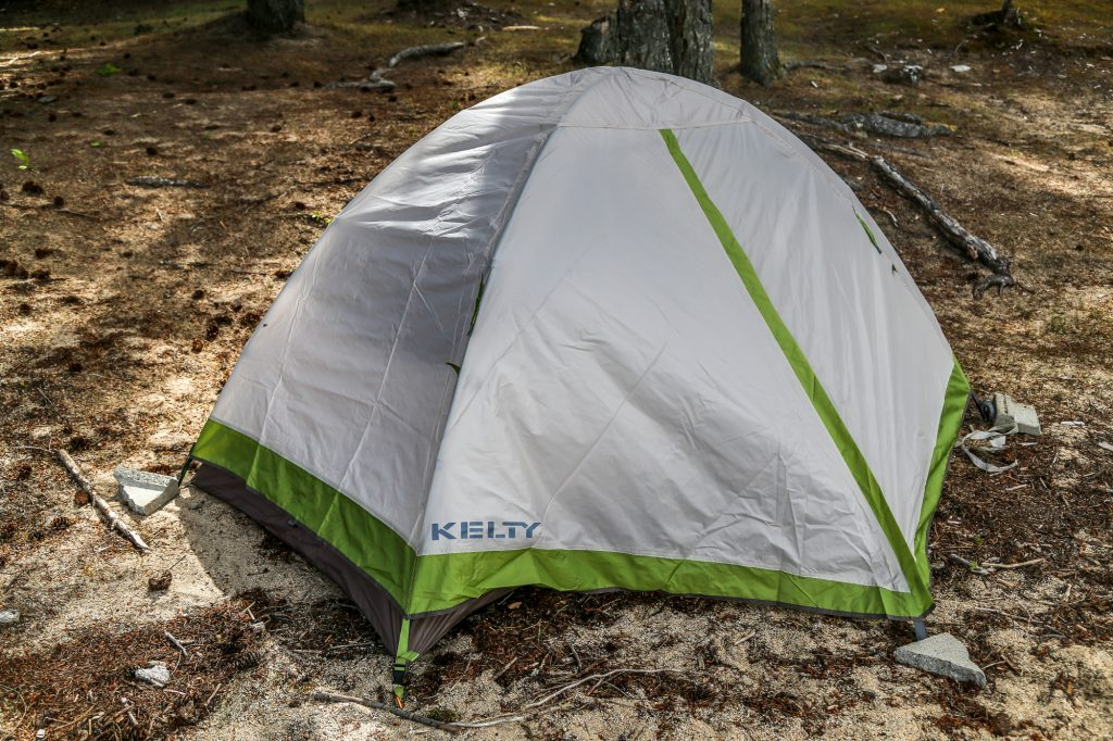 kelty salida 2 person backpacking tent setup