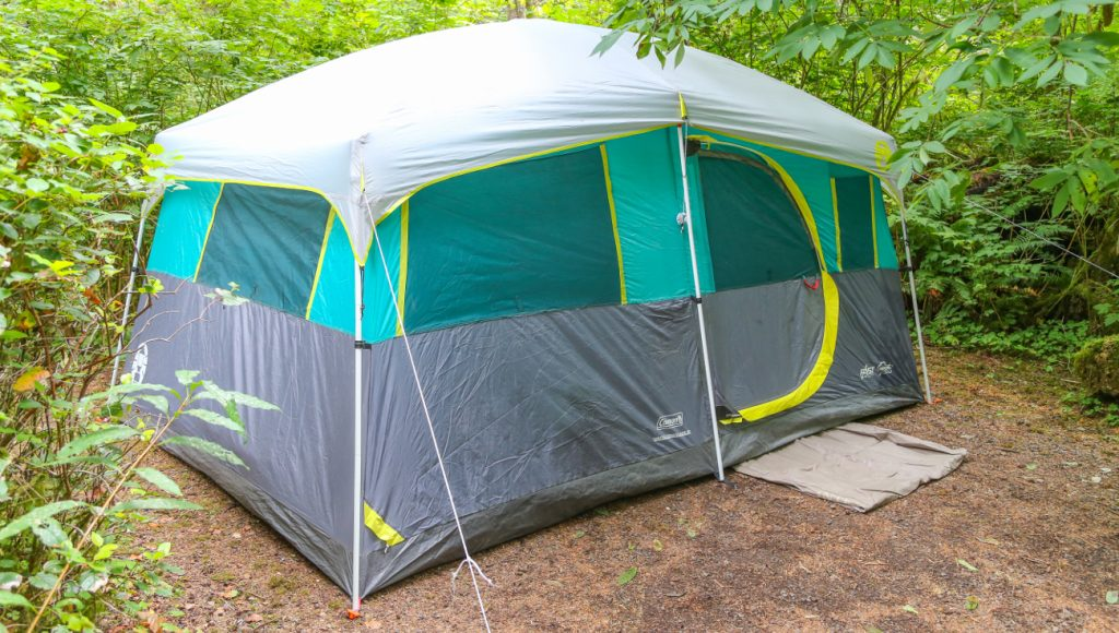 tents camping under sized lot