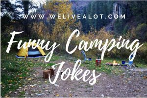 funny camping jokes for adults & kids