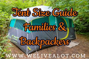 what size camping tent do I need