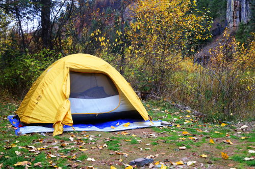 what size tent do I need for camping