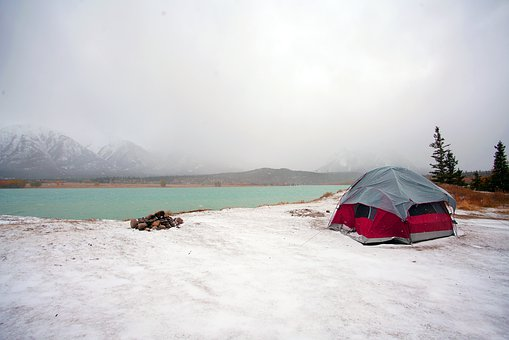 how to winterize your tent